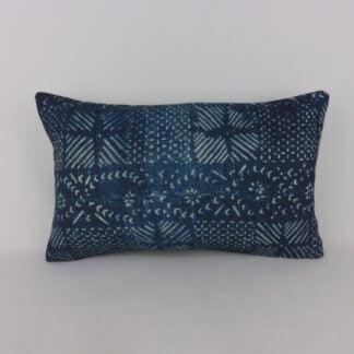 William Yeoward Camague Indigo Cushion