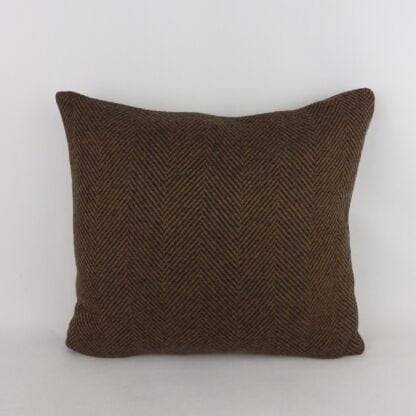 Brown Wool Cushions