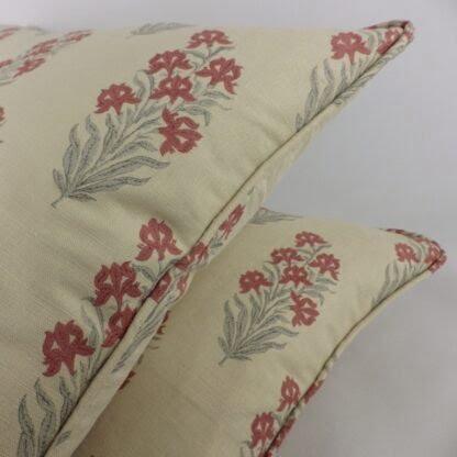 Hodsoll McKenzie Indian Iris Floral Cushion