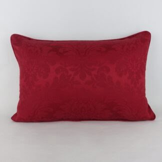 Classic Red Damask Cushion