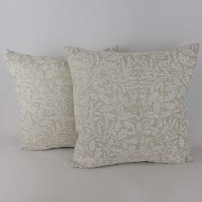 William Morris Pure Acorn Cushion