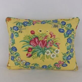 Lee Jofa Up Country Tulip Floral Cushion