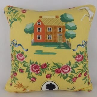 Lee Jofa Up Country House Floral Cushion