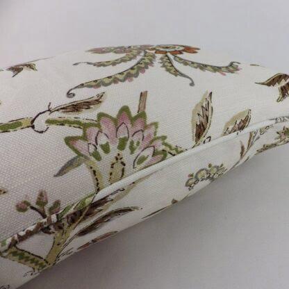 Lee Jofa Seafield Tree of Life Bird Floral Cushion