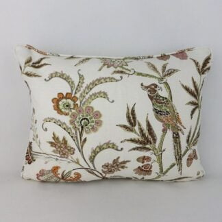 Lee Jofa Seafield Tree of Life Bird Floral Cushion