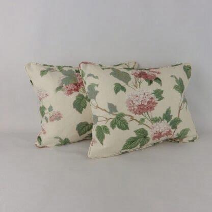 Pink Hydrangea Cushion