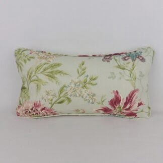 Vintage Sanderson Duck Egg Blue Floral Cushion