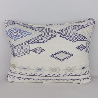 Indigo Christopher Farr Travelling Light Fabric Cushion