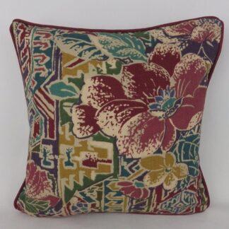 Vintage 90's Aztec Floral Cushion
