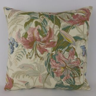 Vintage Lily Floral Cushions