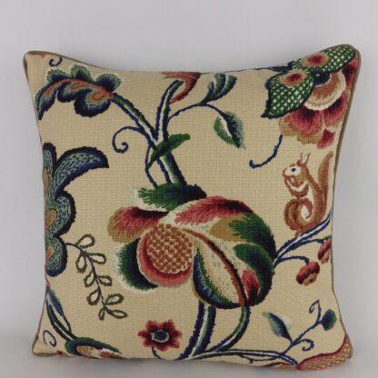 Jacobean Tree of Life Cushion