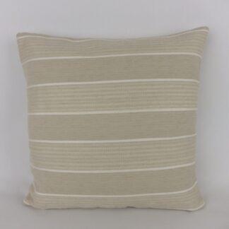 Striped Natural Cushions