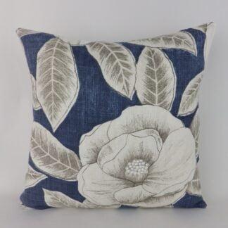Blue Modern Floral Cushions