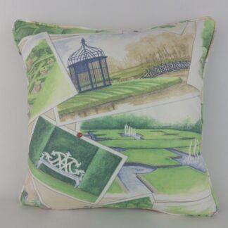 GP & J Baker Opera Postcards Garden Cushions