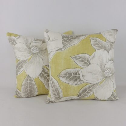 Yellow Floral Cushion