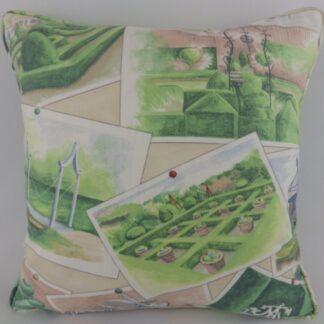 Large GP & J Baker Opera Postcards Garden Cushions