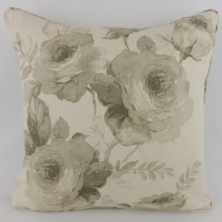 GP & J Baker Salcombe Rose Natural Linen Cushions