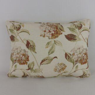 Hydrangea Vintage Floral Cushion