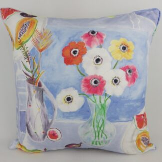 Sanderson Morning View Floral Cushion