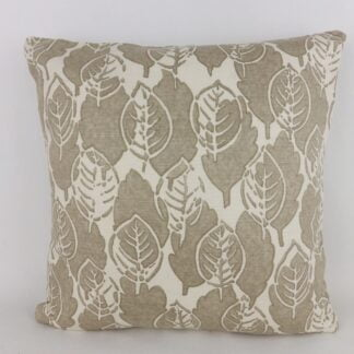 Sanderson Lytton Block Print Leaf Cushion