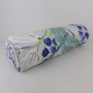 Blue Dragonfly Bolster Cushion