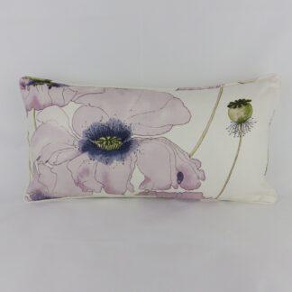 Purple Poppy Cushions