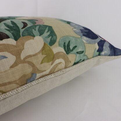 Sanderson Midsummer Vintage Antique Rose Linen Cushion