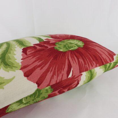 Sissinghurst GP & J Baker Red Green Floral Cushion