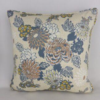 Liberty Art Fabric Chrysanthemum Cushion