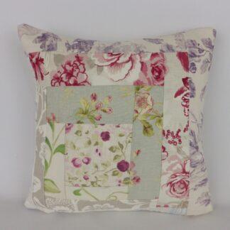 Floral Patchwork Cushion