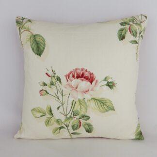 Sanderson English Rose Floral Cushion