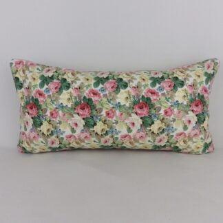 Sanderson Vintage Chelsea Rose Bolster Cushion