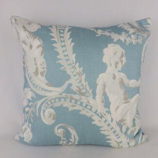Designer Roman Classical Cherub Cushion
