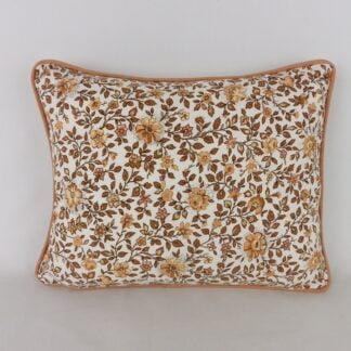 Vintage Sanderson Dimity Floral Cushion
