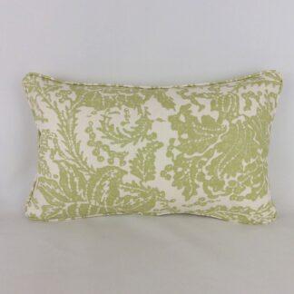 Green Thibaut Mizoram Designer Linen Cushion