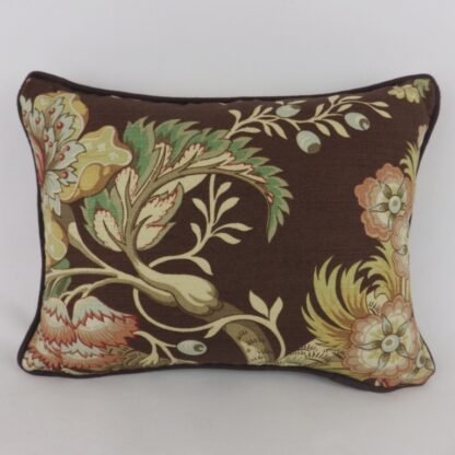 Titley and Marr Tree of Life Brown Linen Cushion