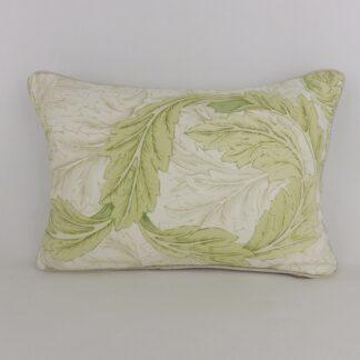 William Morris Acanthus Leaf Lumbar Cushion