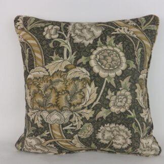 William Morris Wandle Linen Cushion