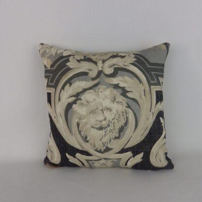 Grey Lion Cushion