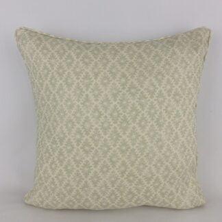 Green Linwood Ashfield Block Print Cushion