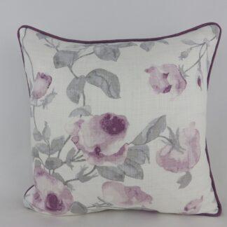 Laura Ashley Grace Purple Rose Cushions